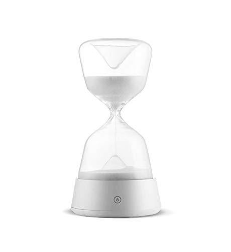 Reloj De Arena Luz De Noche (Blanco) Yoga Lámpara Romántica ...