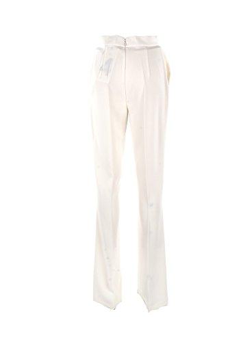 Pantalone Donna Elisabetta Franchi Essential 40 Avorio Pa12281e2 Primavera Estate 2018