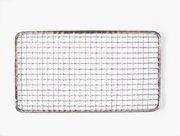使い捨て焼き網 角網 長方形型200枚 198×337mm☆鉄(亜鉛メッキ)中国産 焼肉用使い捨て焼網 網洗いの手間が省けます B00H1IGNBE