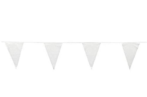 FX 100 Foot White Pennant Banner 12