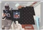 Julius Peppers #99/350 (Football Card) 2003 SPx - Winning Materials Jersey - NFL -