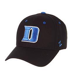 Zephyr Duke University Blue Devils Black Best Dukies Competitor DH Mens/Boys/Women Baseball Hat/Cap Snapback Size Adjustable (Golf Duke Gear)