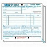 Tops Bills of Lading Snap-Off Sets by Tops