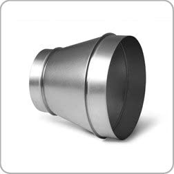 """Hydroponics Duct Ducting Coupling Connector Pipe Fitting Adapter 4/"""" 100mm"""