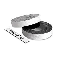 Magnetic Labeling Tape, 2''x50' Roll, White, Sold as 1 Roll