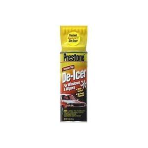 Prestone As-2475p Windshield De-icer Spray, 11 Oz (Pack of 48)