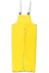 Navigator, .22mm, PU/Nylon, Bib Overall, W/Fly, YELLOW - 550BPX3 - Mcr Safety Navigator