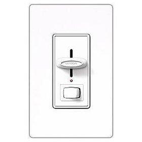 Fluorescent Preset Dimmer - Lutron Sf-12P-277-3-Wh White Skylark 277V 6A Fluorescent 3-Way Preset Dimmer Switch