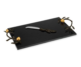 Michael Aram Pomegranate Cheese Board w/ Knife by Michael Aram