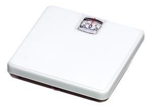 Health O Meter 100LB Mechanical Floor Scale, 270 lb. Capacity, 10-1/4'' x 9-7/8'' x 1-7/8'' Platform (Pack of 3)