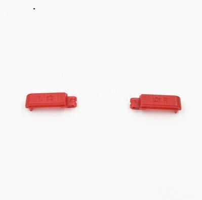 Replacement Left Right L R Button for Nintendo DSi NDSI Console (Red) (Dsi Console Red)