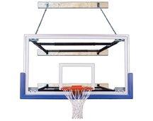 最初チームsupermount68 Triumph steel-glass壁マウントバスケットボールsystem44 ;砂漠ゴールド B01HC0CY2W