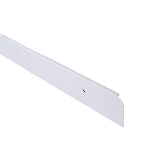 Bulk Hardware BH04364 Worktop Trim End Cap, 30 x 630 mm - White