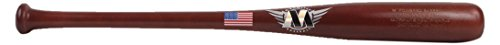 M^POWERED BASEBALL Mpowered Baseball Big Drop Youth Maple Wood Baseball Bat, 5-8 Drop, Maple, 27