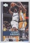Gilbert Arenas (Basketball Card) 2007-08 Upper Deck - [Base] - Championship Court #200 (Basketball Championship 2007)