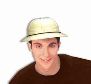 Forum Novelties Safari Pith Helmet Hat Tan