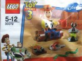 Woody Mini Figure - Lego Toy Story 3 Mini Set 30072: Woody's Camp Out (UK Exclusive)