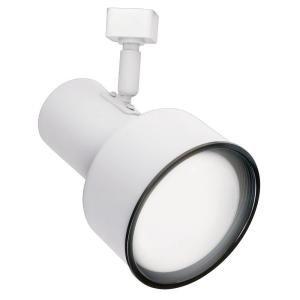 R20 White Step Cylinder Track 6hx3.5wx5d White
