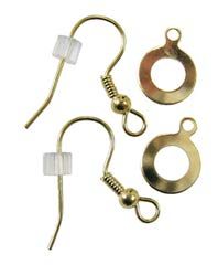 Fuseworks Gold Earring Kit, Pack of 2 Pairs