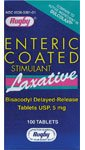 Laxative Bisacodyl Delayed Release 100 Tabs - Enteric Coated Laxative