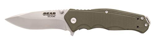 Bear Edge 61102 G10 Sideliner with Trigger and Ball Bearing Washers Od, Green, 4 1/2