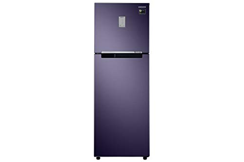 Samsung 275 L 3 Star Frost-Free Double-Door Refrigerator (RT30R3423UT/HL, Pebble Blue)