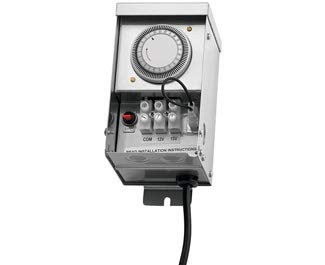 Kichler 15CS75SS Landscape Transformer, Stainless Steel