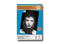 HP Q8839A Professional Satin Photo Paper, 13 X 19 Inches, 25 (Hp Professional Photo)