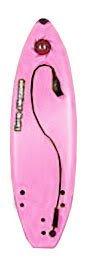 "Liquid Shredder 5'8"" Pro Series Surfboard- Pink"