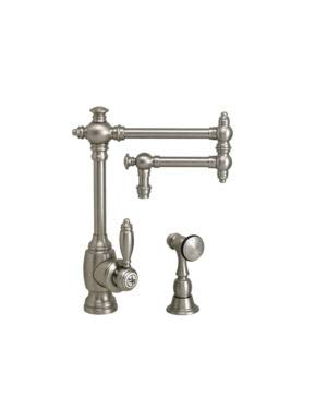 1ap Antique - Waterstone 4100-12-1-AP Towson Kitchen Faucet - 12