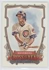 Ryne Sandberg  Baseball Card  2013 Topps Allen   Ginters   Across The Years  Aty Rs