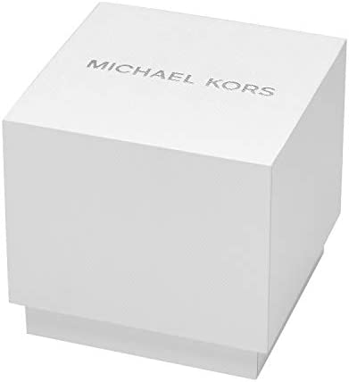 Michael Kors Quartz Montre avec Bracelet en Cuir véritable MK8763