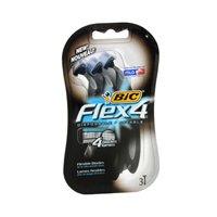 Bic Bic Flex 4 Disposable Shavers, 3 each