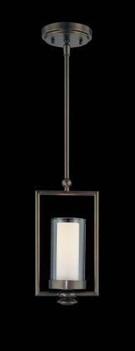 Minka Lavery Pendant Ceiling Lighting 4361-281, Havard Ct. Mini Cylinder, 1 Light, 60 Watts Halogen, Bronze