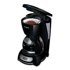 Mr. Coffee 5-Cup Coffee Maker, Black