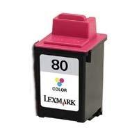 Lexmark 12A1980 Remanufactured Tri-color Ink Cartridge