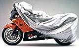 Covercraft XM105RBSU Ready-Fit Deluxe Silver Urethane Retail Box Motorcycle Cover