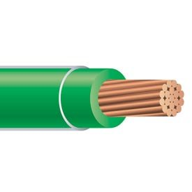 250FT 400 AWG XHHW Stranded copper Wire 600V Green by Nassau Electrical Supply