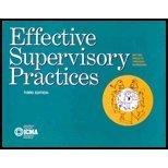 Effective Supervisory Practices (Municipal Management Series)