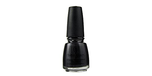 (China Glaze Nail Lacquer with Hardeners:Black Diamond)