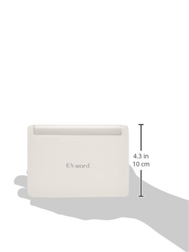 Casio electronic dictionary Data Plus 6 high school model XD-U4805WE White From import JPN by Casio (Image #4)