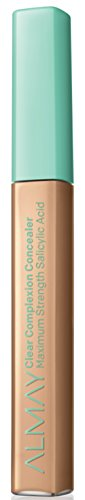 Almay Clear Complexion Oil-Free Concealer, Medium/Deep, Hypoallergenic, Dermatologist-tested, Non-Comedogenic (Won't Clog Pores) 0.18 oz ()
