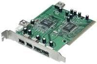 TRENDnet 6-Port USB//FireWire Combination PCI Adapter TFU-H33PI