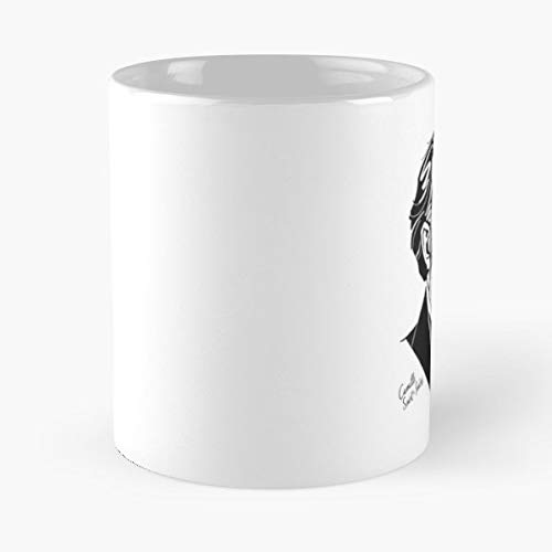Saint Saens Portrait Pianist Composer - White -coffee Mug- Unique Birthday Gift-the Best Gift For Holidays- 11 Oz.