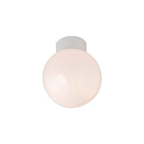 White Bathroom Ceiling Globe Robus Bathroom Ceiling Globe 60W LED Group
