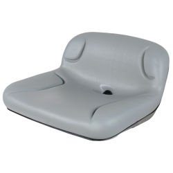 Low-Back Drain Hole Raft Seat
