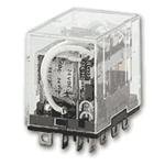 OMRON INDUSTRIAL AUTOMATION LY2F-AC24 POWER RELAY, DPDT, 24VAC, 10A, PLUG IN (1 piece)