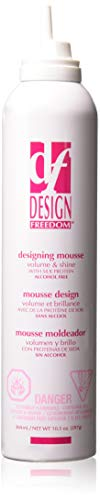 Zotos Design Freedom Designing Mousse, 10.5 Ounce