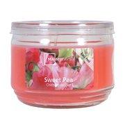 Mainstays 11.5 oz Jar Candle Sweet Pea, Pink ()