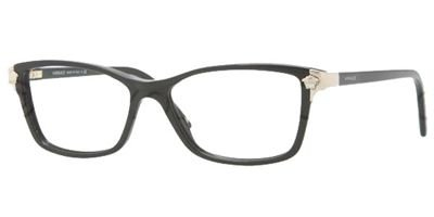 Versace VE3156 Eyeglass Frames GB1-5315 - Black